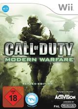 Call of Duty: Modern Warfare - Reflex Edition Wii cover (RJAP52)