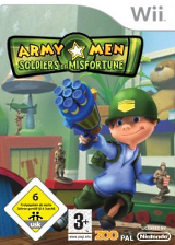 Army Men: Soldiers of Misfortune Wii cover (RKYP7J)