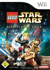 LEGO Star Wars: Die Komplette Saga Wii cover (RLGP64)