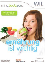 Mind.Body.Soul: Ernährung ist Wichtig Wii cover (RNIPGT)