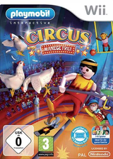 Playmobil Circus: Manege frei! Wii cover (ROVPHM)