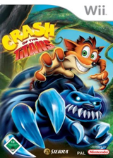 Crash of the Titans Wii cover (RQJP7D)