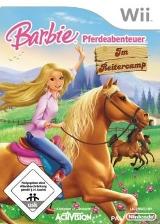 Barbie Pferdeabenteuer: Im Reitercamp Wii cover (RRCP52)