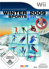Winter Sports 2009: The Next Challenge Wii cover (RRUPRT)