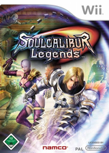 Soulcalibur Legends Wii cover (RSLPAF)