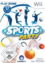 Sports Party Wii cover (RSUP41)