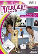 Tierliebe Gross Geschrieben Wii cover (RVTFMR)