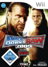 WWE SmackDown vs. Raw 2009 Wii cover (RW9X78)