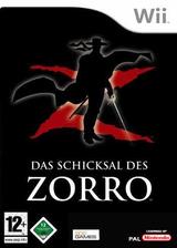 Das Schicksal des Zorro Wii cover (RZRPGT)