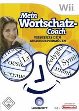 Mein Wortschatz-Coach: Verbessere Dein Ausdrucksvermögen Wii cover (RZYF41)