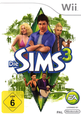 Die Sims 3 Wii cover (S3MP69)