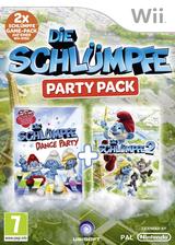 Die Schlümpfe Party Pack Wii cover (S7SP41)