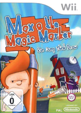 Max & the Magic Marker Wii cover (SAXPFH)
