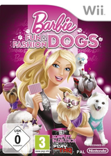 Barbie: Fun and Fashion Dogs Wii cover (SB9P78)