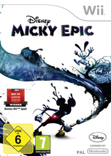 Disney Micky Epic Wii cover (SEMP4Q)