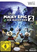 Disney Micky Epic: Die Macht der 2 Wii cover (SERF4Q)