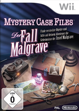 Mystery Case Files:Der Fall Malgrave Wii cover (SFIP01)