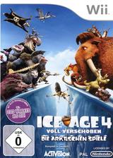 Ice Age 4:Voll Verschoben - Die Arktischen Spiele Wii cover (SIAP52)