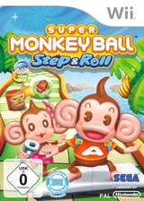 Super Monkey Ball: Step & Roll Wii cover (SMBP8P)
