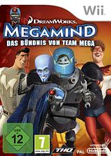 Megamind:Das Bündnis von Team Mega Wii cover (SMGP78)