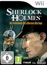Sherlock Holmes:Das Geheimnis des silbernen Ohrrings Wii cover (SSHPHH)