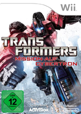 Transformers: Mission auf Cybertron Wii cover (ST5P52)