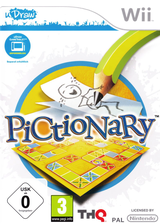 Pictionary Wii cover (STAP78)