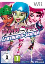 Monster High: Labyrinth-Skaten Wii cover (SU5PVZ)