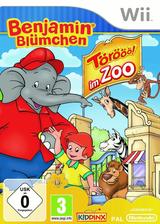 Benjamin Blümchen - Törööö im Zoo Wii cover (SUZD7K)