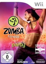 Zumba Fitness Wii cover (SZ5PGT)