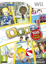 Oops! Games Island Wii cover (SPIP18)