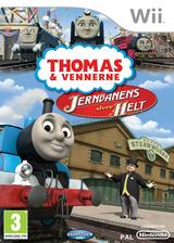 Thomas og vennerne: Jernbanens Store Helt Wii cover (ST4XNX)