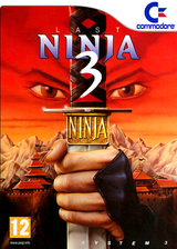 The Last Ninja 3 VC-C64 cover (C9PP)