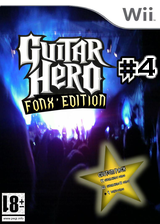 Guitar Hero III Custom : Fonx #4 CUSTOM cover (CGHPF4)
