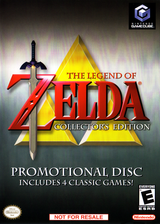 The Legend of Zelda: Ocarina of Time / Master Quest GameCube cover (D43W01)