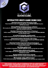 Interactive Multi-Game Demo Disc - March 2004 GameCube cover (D87P01)
