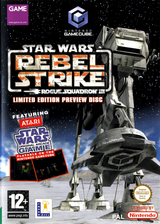 Star Wars: Rogue Squadron III: Rebel Strike: Limited Edition Bonus Disc (Demo) GameCube cover (DLSP64)