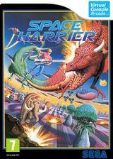 Space Harrier VC-Arcade cover (E62P)