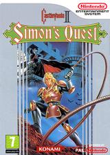 Castlevania II: Simon's Quest VC-NES cover (FC8P)