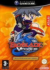 Beyblade VForce - Super Tournament Battle GameCube cover (GBTP70)