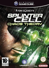Tom Clancy's Splinter Cell: Chaos Theory GameCube cover (GCJP41)