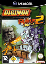 Digimon Rumble Arena 2 GameCube cover (GD6P70)