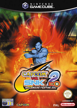Capcom vs. SNK 2 EO: Millionaire Fighting 2001 GameCube cover (GEOP08)