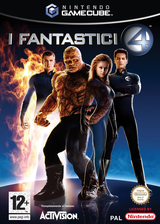 Fantastic 4 GameCube cover (GF4I52)