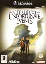 Lemony Snickets A Series Of Unfortunate Events GameCube cover (GLCP52)