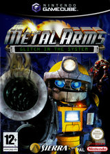 Metal Arms:Glitch in the System GameCube cover (GM5P7D)
