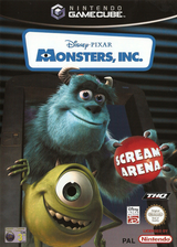 Monsters, Inc. Scream Arena GameCube cover (GMNP78)