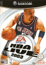 NBA Live 2003 GameCube cover (GNLP69)