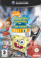 Spongebob Squarepants & Friends:Unite! GameCube cover (GNOX78)