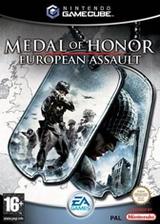 Medal of Honor: European Assault GameCube cover (GONP69)